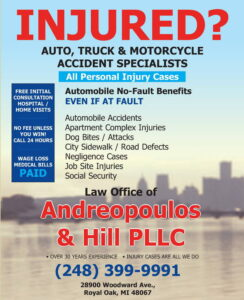 Law Offices Of Andreopoulos & Hill Pllc.